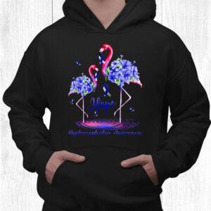 flamingo hydrocephalus awareness shirt 3