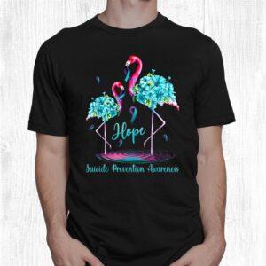 flamingo suicide prevention awareness shirt 1