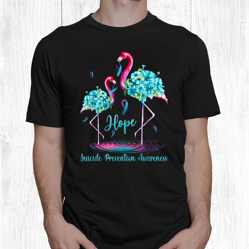 Flamingo Suicide Prevention Awareness Shirt