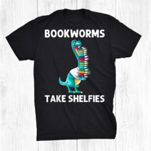Funny Reading Books Gift Bookworm Story Reader Shirt