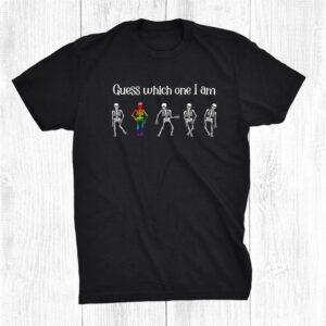 Funny Saying Lgbt Party Skeleton Gay Pride Halloween Shirt