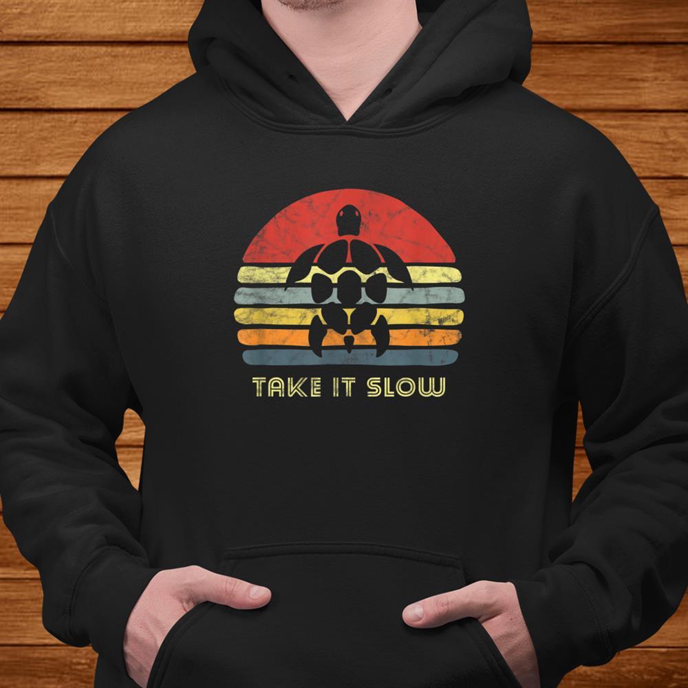 Funny Sea Turtle Hippie I Like Beach Tortoise Animal Love Shirt