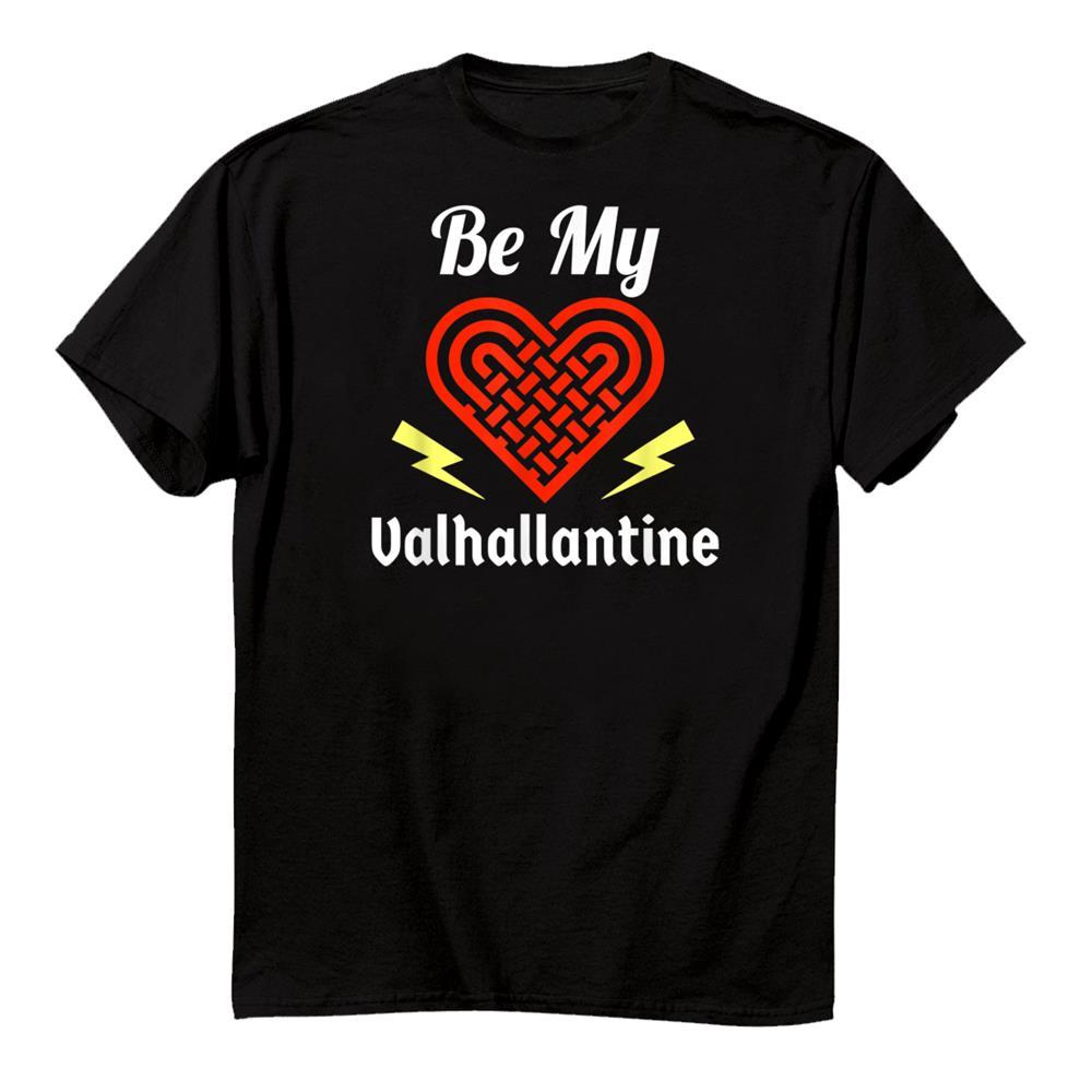 Funny Valentines Day Be My Valhallantine Viking Gift For Him Shirt