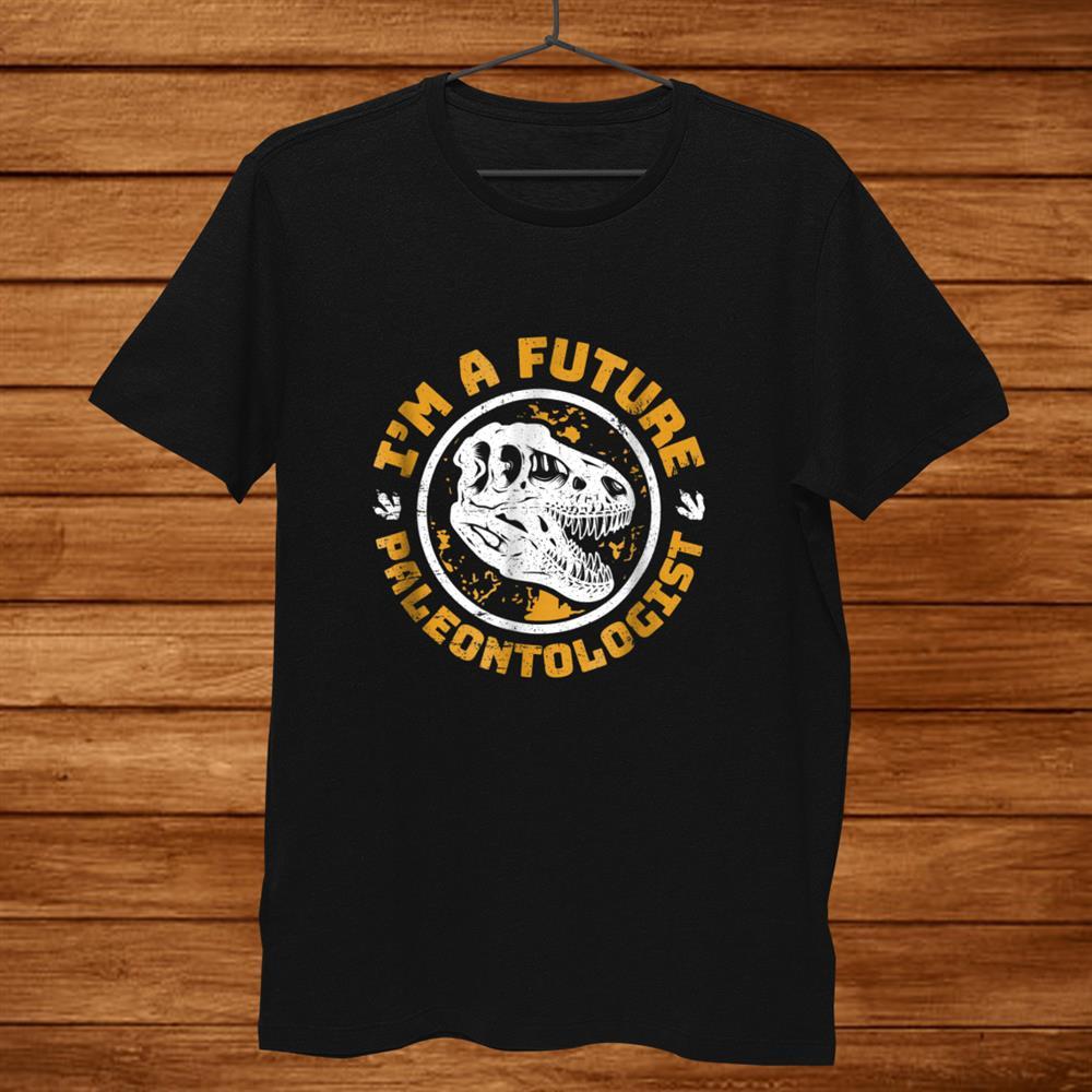 Future Paleontologist Dinosaur Skull Shirt