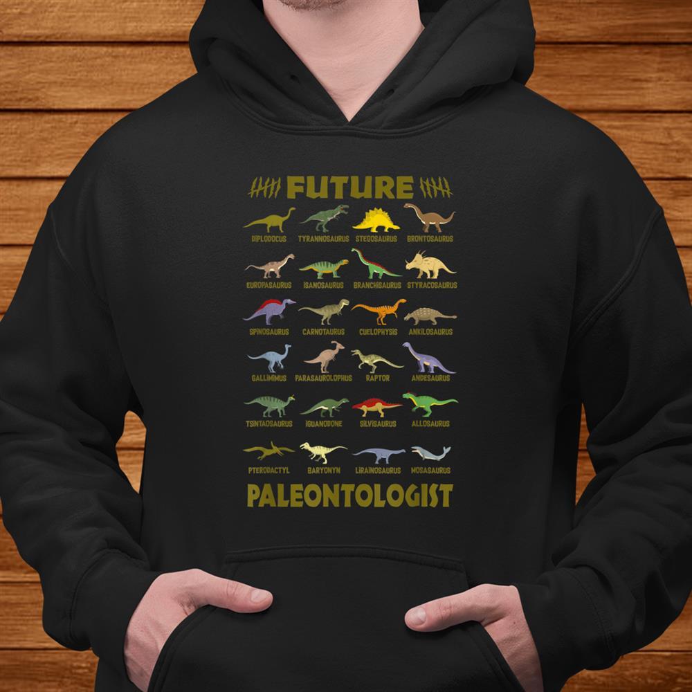 Future Paleontologist Dinosaurs Kids Shirt