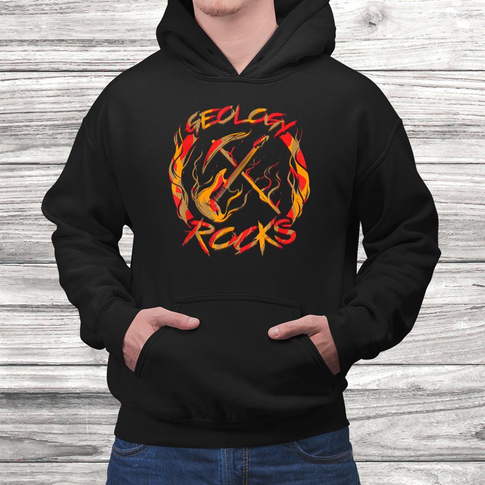 Geology Rocks Heavy Metal Music Guitar Geologist Shirt