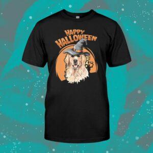 Golden Retriever Costumes Halloween Dog Shirt