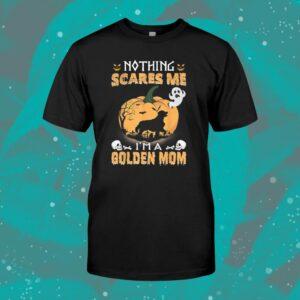 Golden Retriever Mom Halloween Shirt Nothing Scares Me Shirt