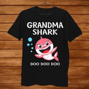 Grandma Shark Shirt Doo Doo Halloween Costume Christmas Shirt