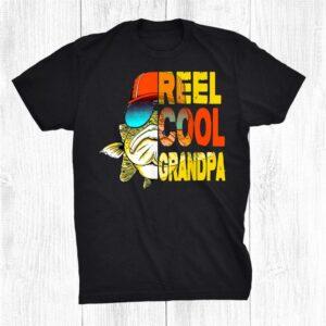 Grandpa Fishing Cool Shirt