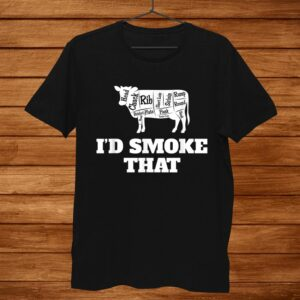 Grill Chef Master King Id Smoke That Shirt