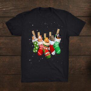 Guinea Pig Christmas Socks Shirt