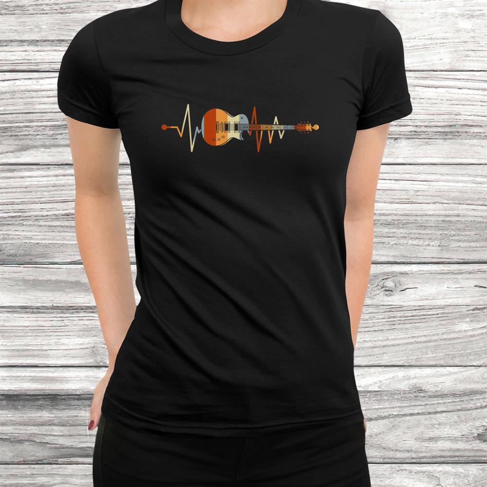 Guitarist Heartbeat Guitar Shirt
