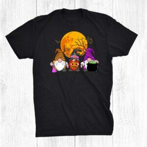 Halloween Gnomes Cute Autumn Pumpkin Fall Funny Holiday Shirt