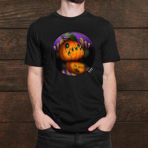 Halloween Jack O Lantern Limited Edition Tattoo Shirt