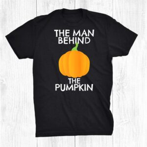 Halloween Pregnancy Reveal Pumpkin Baby Shower Dad Funny Shirt