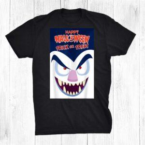 Halloween Trick Or Treat Desing Shirt