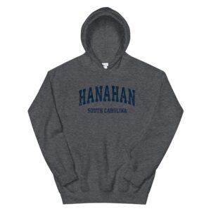 hanahan south carolina sc vintage varsity sports navy hoodie 3
