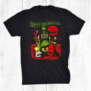 Happy Halloween Day Gift Halloween For Men Halloween Friend Shirt