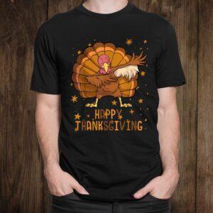 Happy Thanksgiving Shirt Dabbing Turkey Shirt