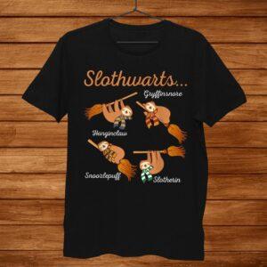 Harry Slothwarts Sloth Shirt Gift For Birthday Halloween Men