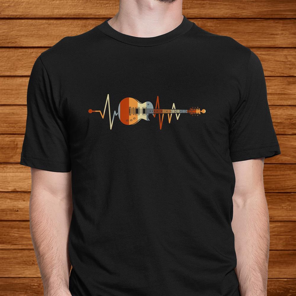 Heartbeat Guitar Shirt