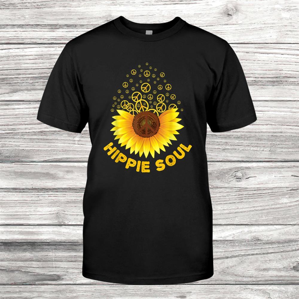 Hippie Soul Hippies Peace Vintage Retro Costume Hippy Shirt