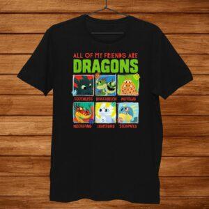 How To Train Your Dragon Hidden World Dragon Friends Shirt