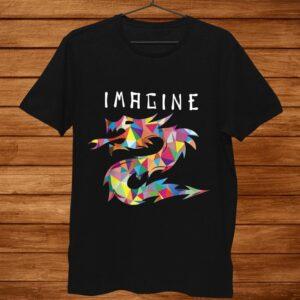 Imagine Fantasy Dragon Tattoo Style Shirt