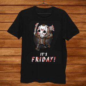 Its Friday3th Funny Halloween Horror Shirt