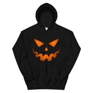 Jack O Lantern Pumpkin Face Halloween Costume Hoodie