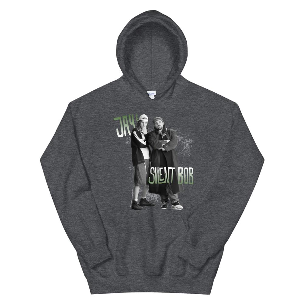 Jay And Silent Bob Arms Crossed Hoodie