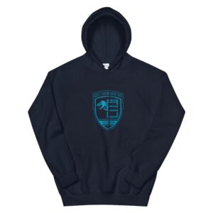 jurassic world asset containment unit badge hoodie 2
