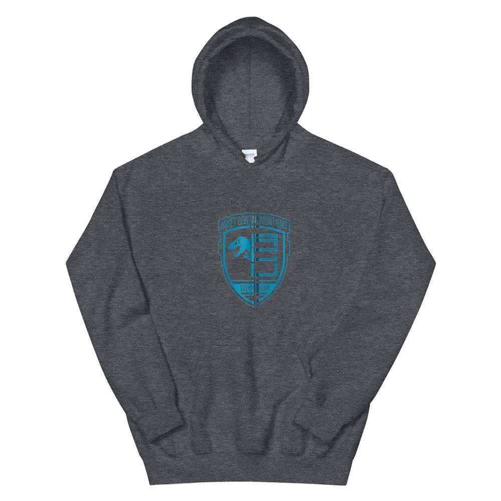 Jurassic World Asset Containment Unit Badge Hoodie
