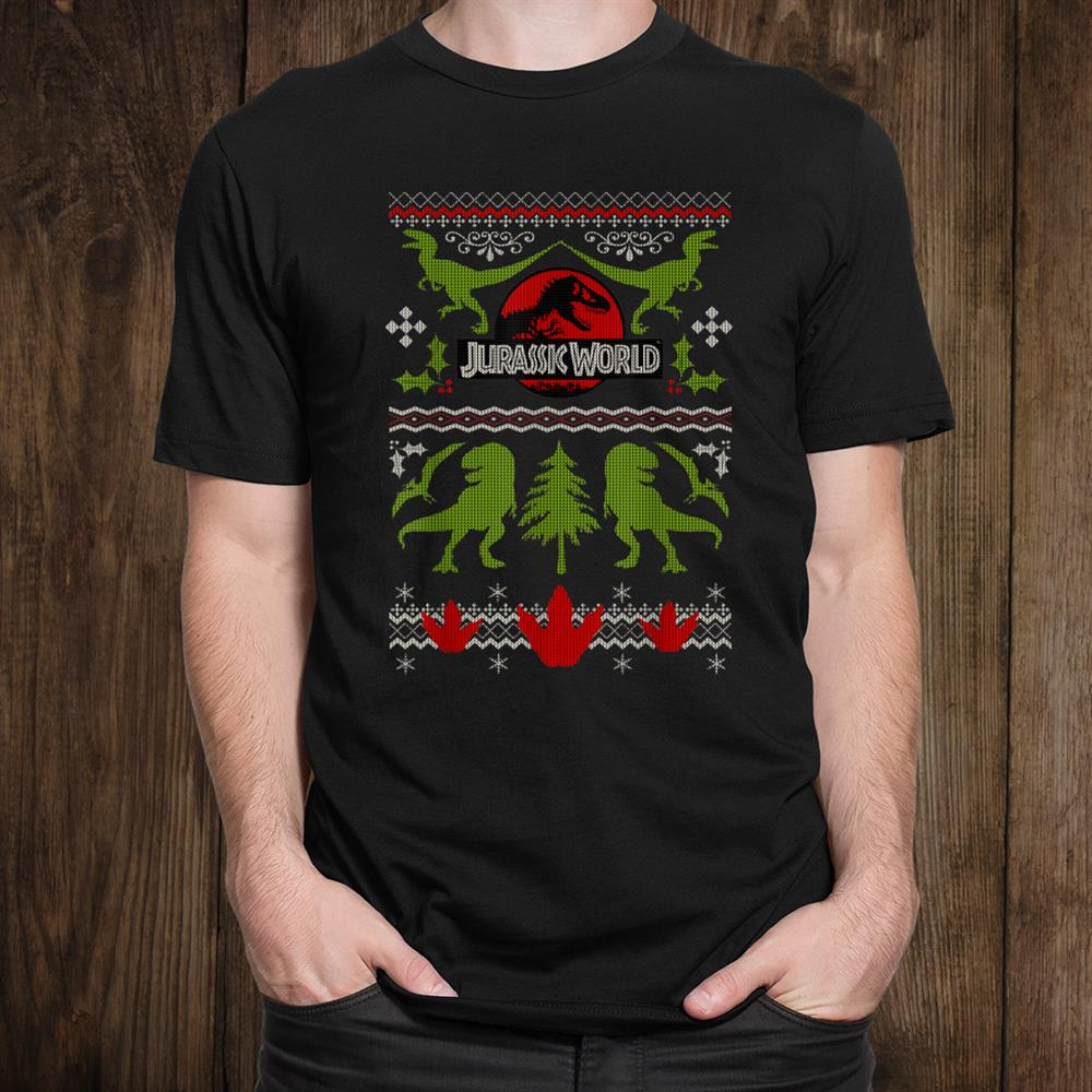 Jurassic World Dinosaur Christmas Shirt