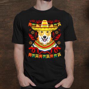 Kawaii Sombrero Corgi Funny Cinco De Mayo Shirt
