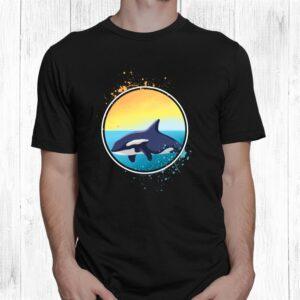 killer whale orcas ocean gift long sleeve shirt 1