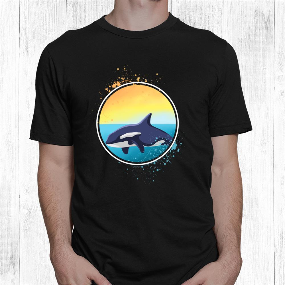 Killer Whale Orcas Ocean Gift Long Sleeve Shirt