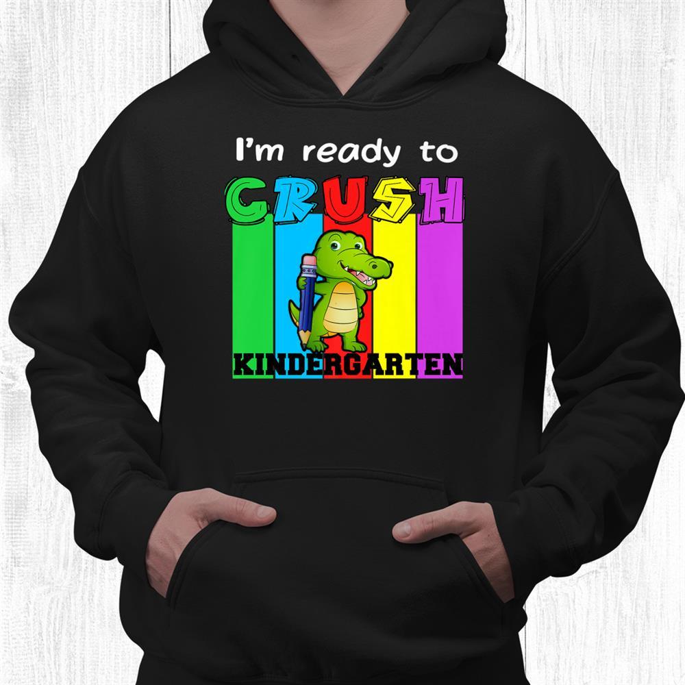 Kindergarten Dinosaur Rainbow Girls Boys Teacher Shirt