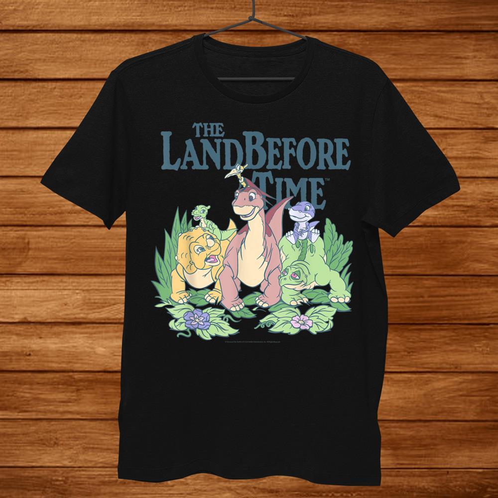 Land Before Time Pastel Dinosaur Friends Shirt
