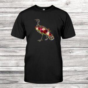 Leopard Turkey Thanksgiving Gift Vintage Shirt