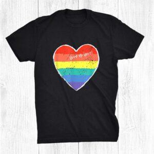 Lgbt Human Shirt Love Is Love Shirt