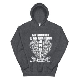 memorial gift for t shirt loss of brother brother in heaven hoodie 3