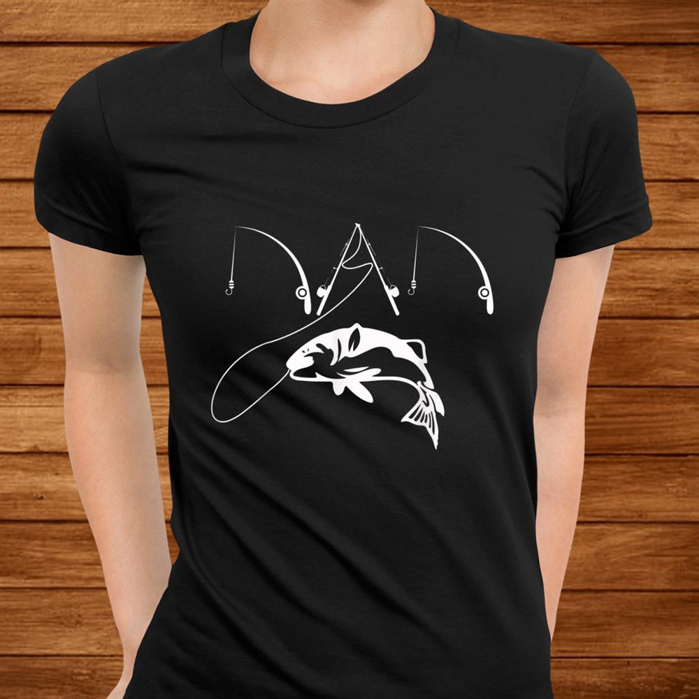 Mens Dad Fishing Fisherman Daddy Shirt