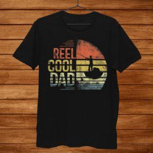 Mens Reel Cool Dad Fisherman Daddy Gifts Fishing Shirt