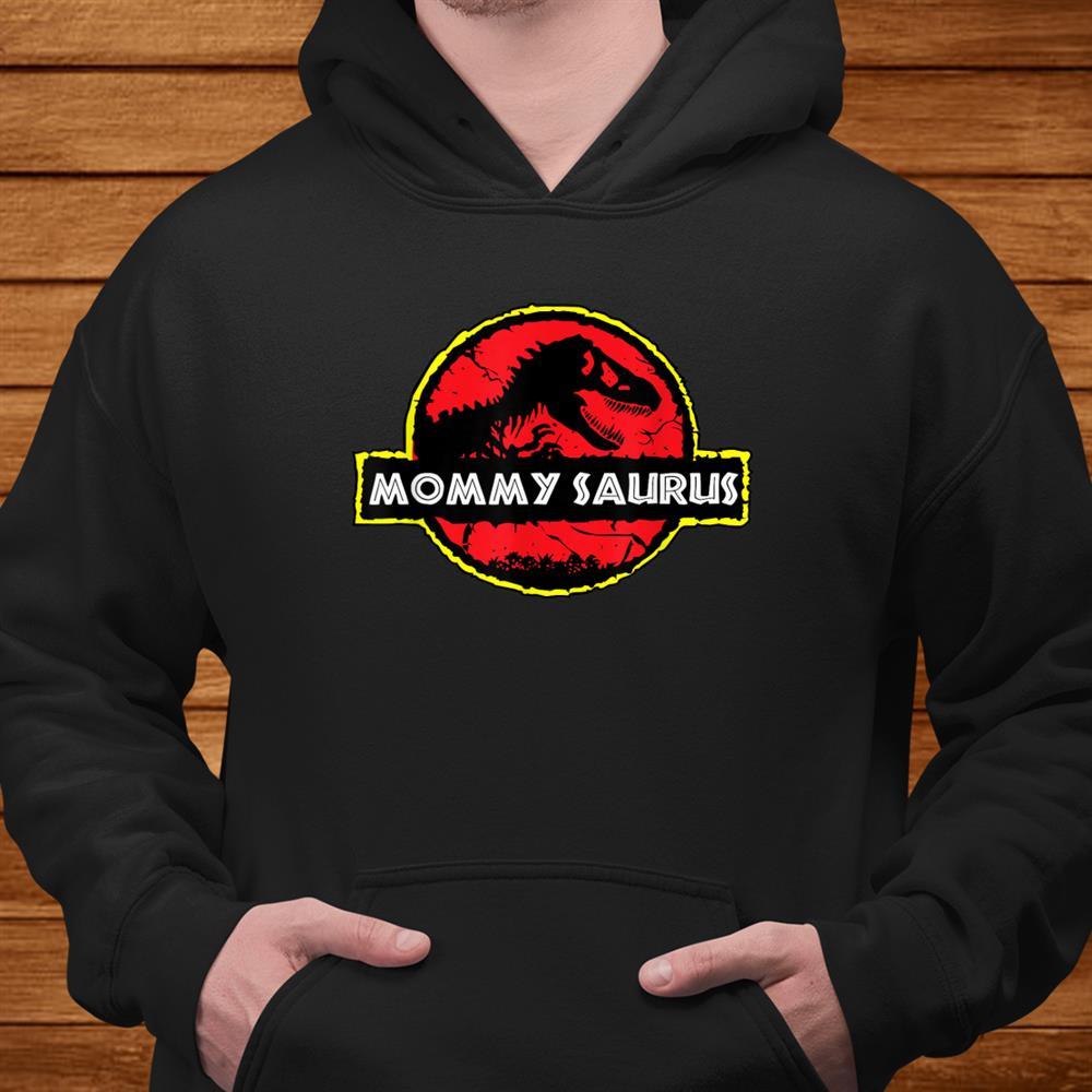 Mens Womens Mother Novelty Gift Mommysaurus Dinosaur Shirt