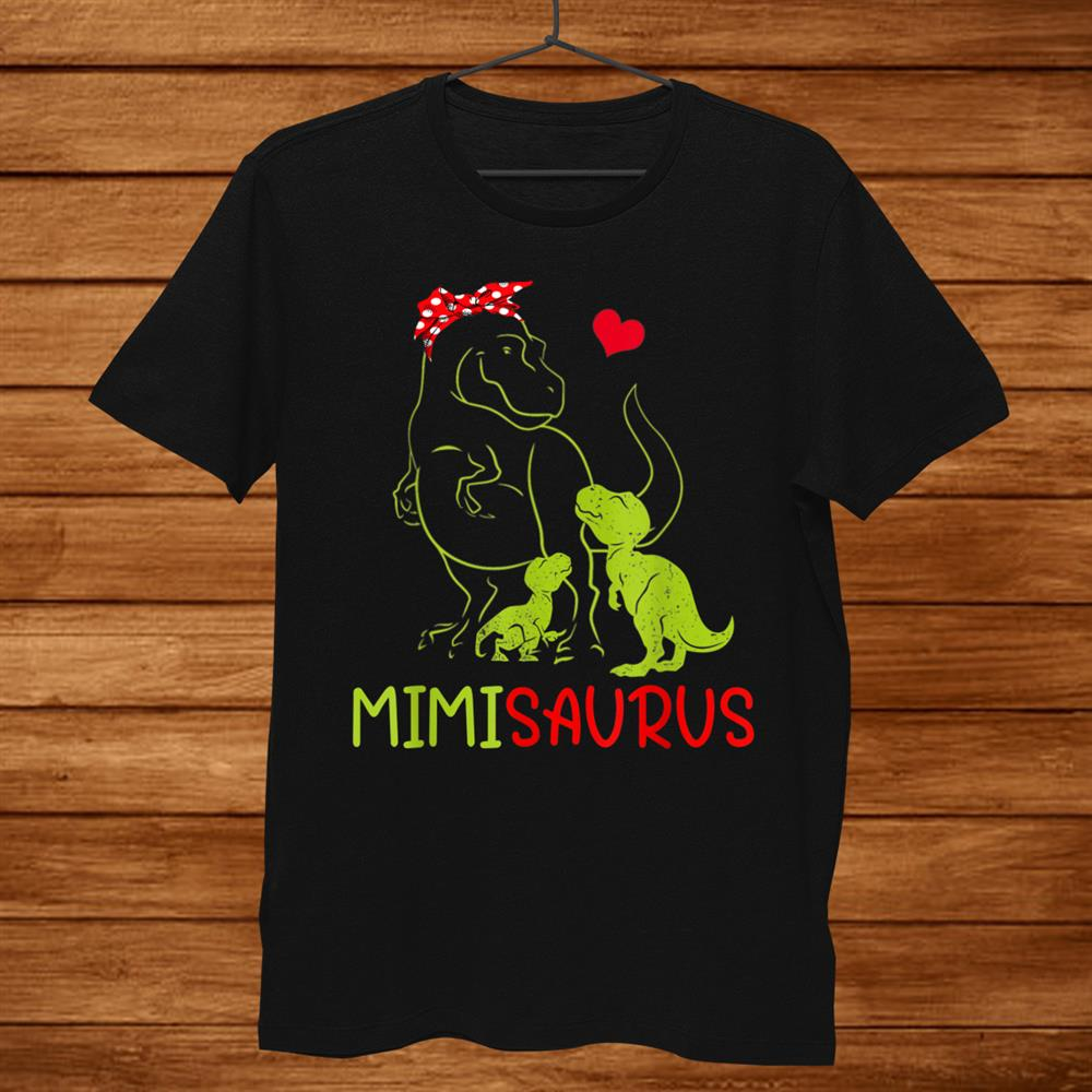 Mimisaurus Shirt T Rex Mimi Saurus Dinosaur Women Mom Shirt