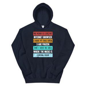 mind is like my internet browser funny geeks hoodie 2