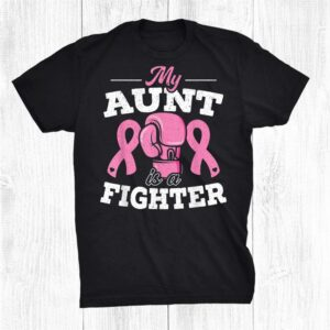 My Aunt Is A Fighter Breast Cancer Awareness Shirt