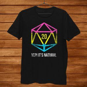 Natural0 Pansexual Flag Pride Lgbt Rights Saying Shirt